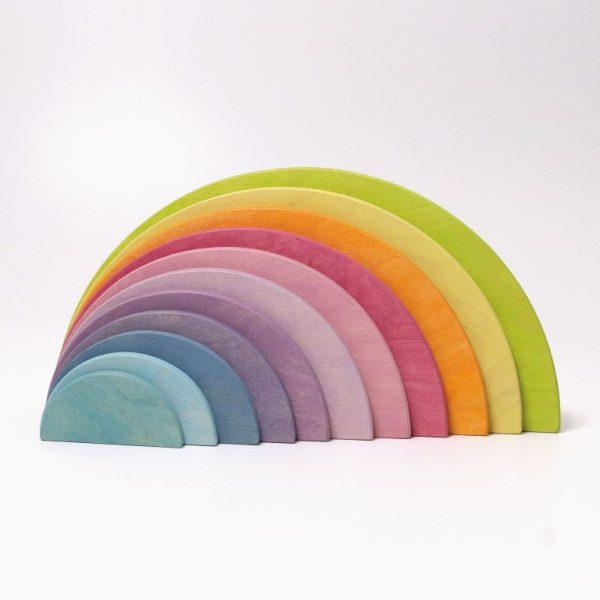 Semicerchi arcobaleno legno pastello Grimm's