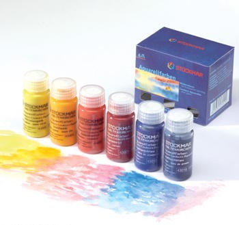 Set 6 acquarelli liquidi 20 ml Stockmar