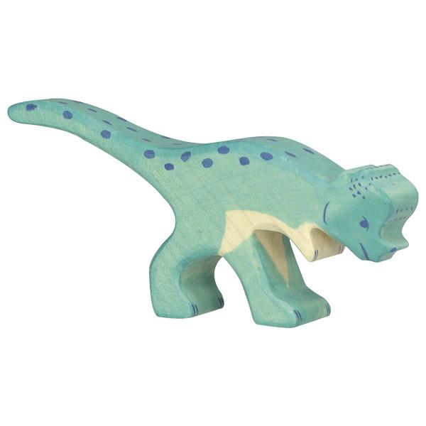 Figura legno Dinosauro Pachycephalosaurus - Holztiger