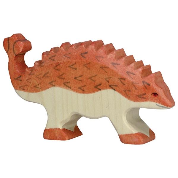 Figura legno Dinosauro Ankylosaurus - Holztiger