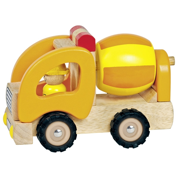 Automezzo betoniera in legno Goki