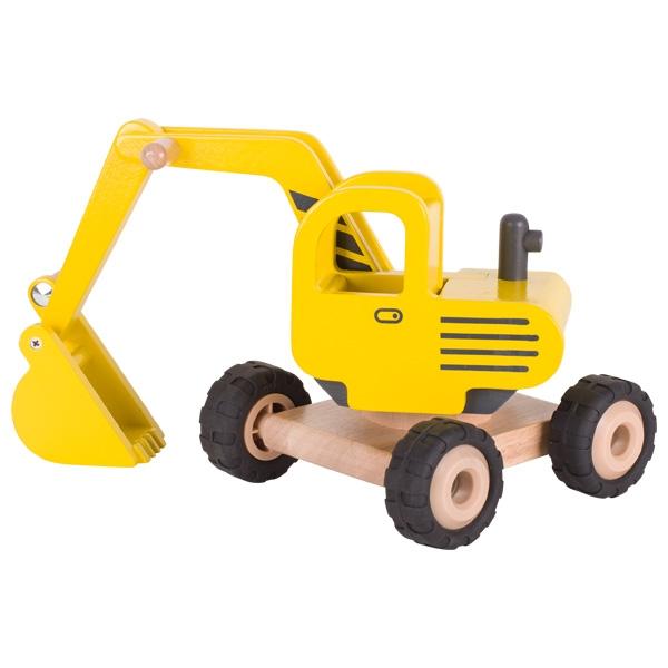 Automezzo escavatore legno Goki