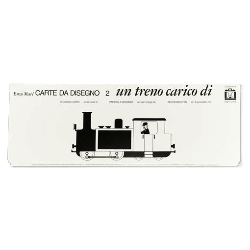 Carte da disegno un treno carico di ... - Corraini Edizioni
