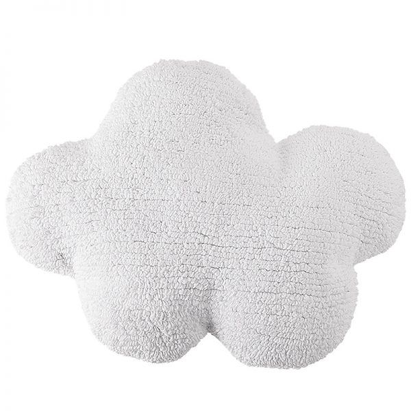 Cuscino cotone nuvola bianca Lorena Canals