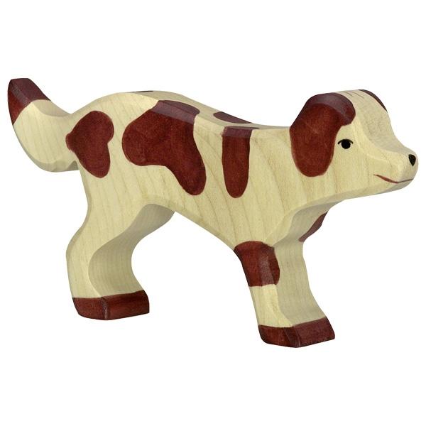 Figura legno Cane pastore - Holztiger