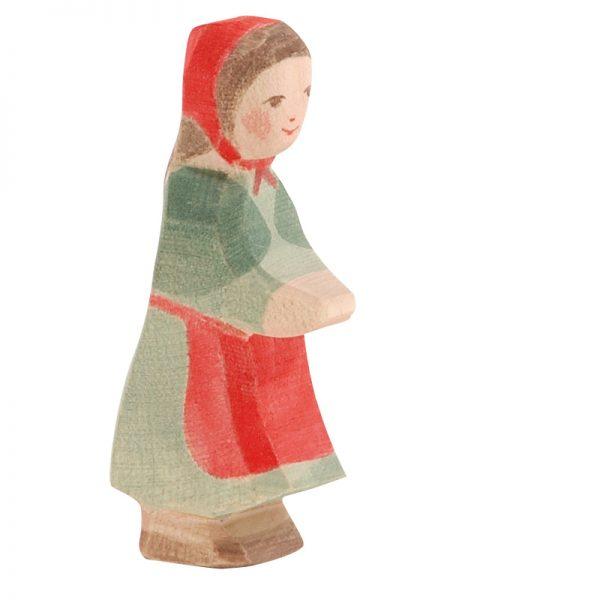 Figura legno Cappuccetto rosso - Ostheimer