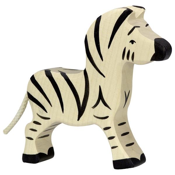 Figura legno zebra piccola - Holztiger