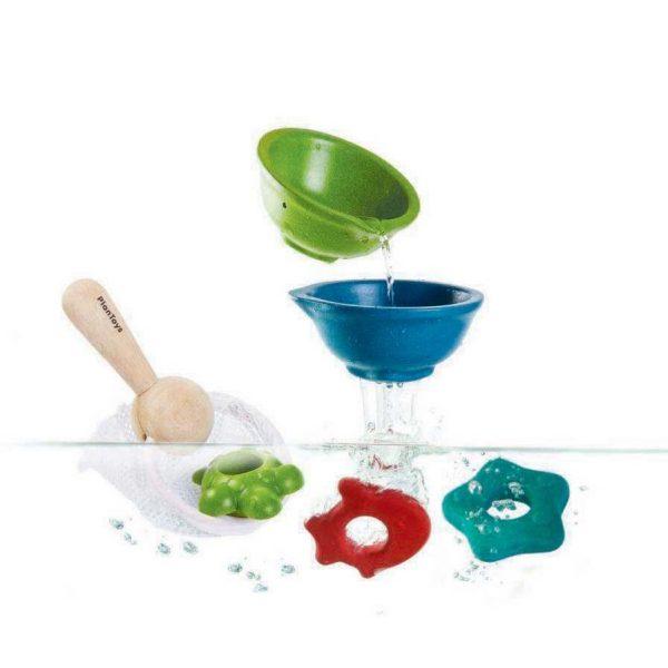 Gioco-bagnetto-Set-ciotole-retino-e-forme-Plan-Toys-5640