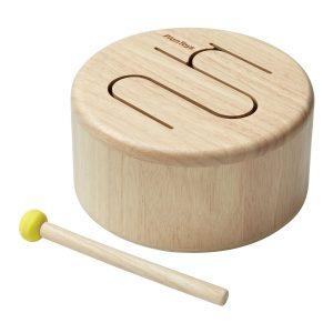 Tamburo solid drum Natural Plan Toys