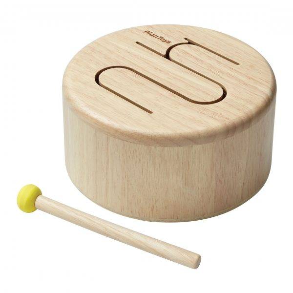 Tamburo solid drum Natural Plan Toys