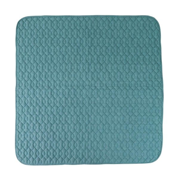 Trapunta culla tappeto attività blue Sebra