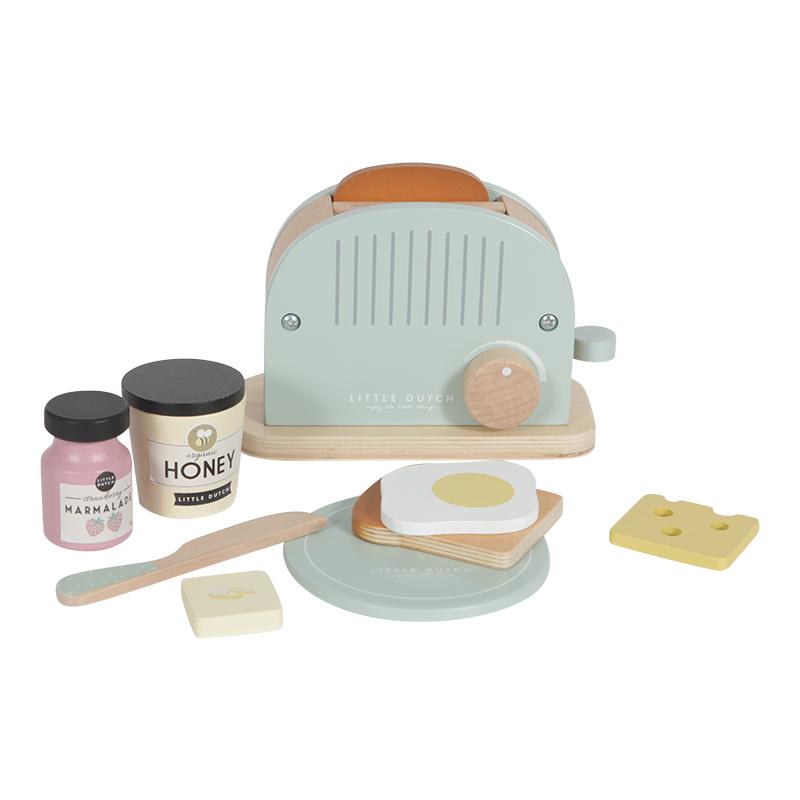 Children's toaster set Little Dutch