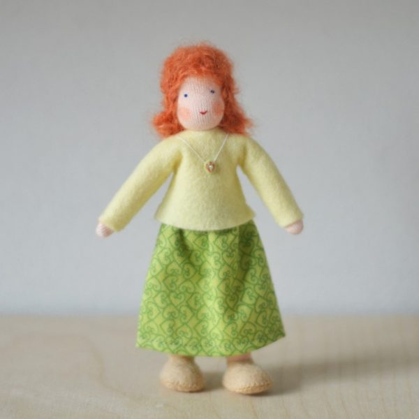 Dollhouse Family Mamma gonna verde Ambro-dolls