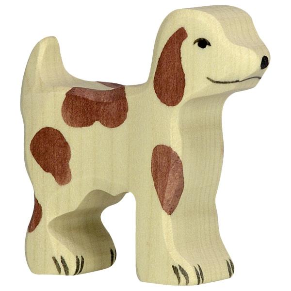 Figura legno Cane pastore piccolo - Holztiger