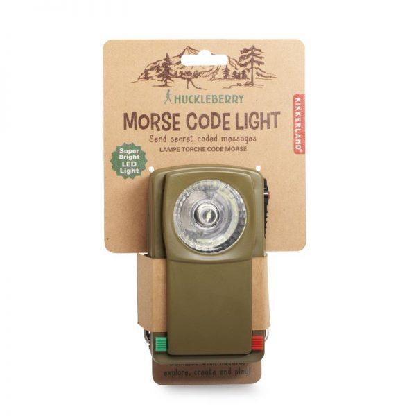 Huckleberry Torcia Morse code light