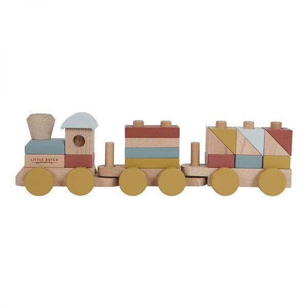 Stacking train Pure & Nature Little Dutch