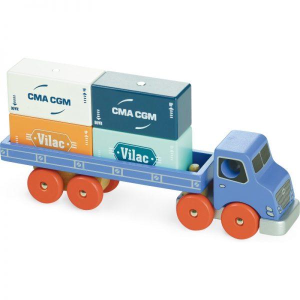 Vilacity container truck camion Vilac