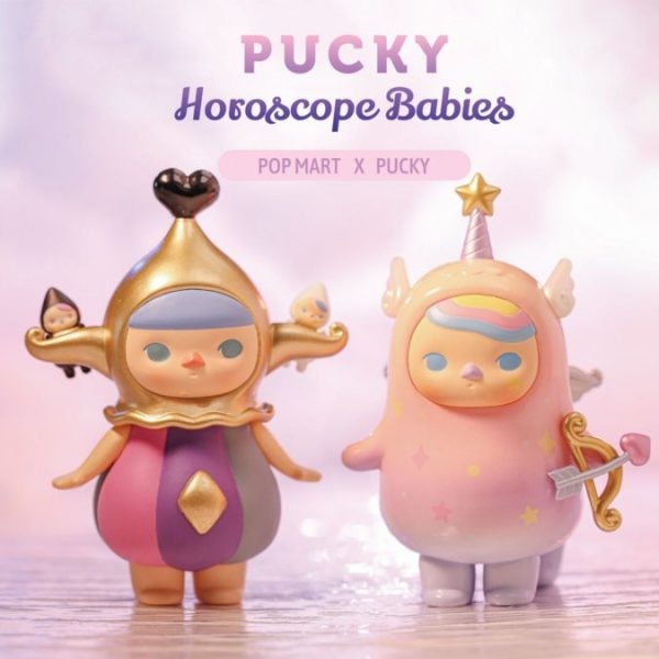 Figura in vinile Pucky Horoscope Babies Pop Mart