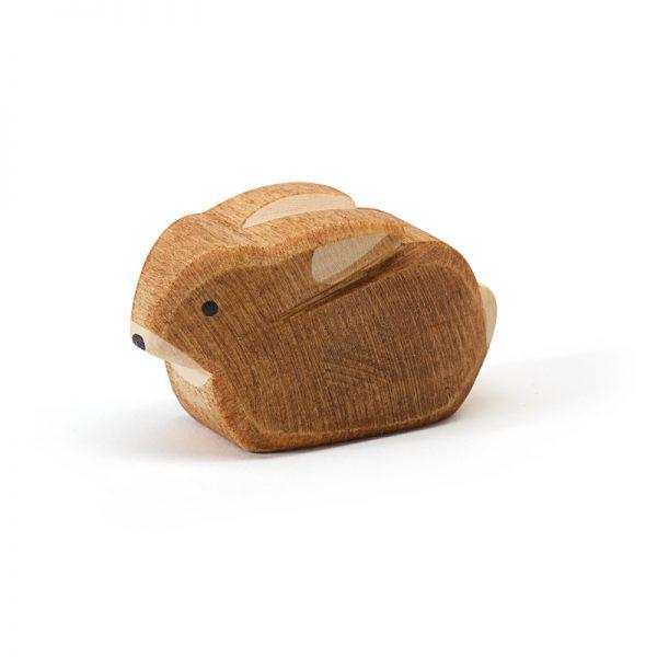 Figura legno coniglio cucciolo - Ostheimer