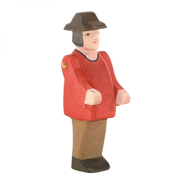 Figura legno Fattore giacca rossa - Ostheimer