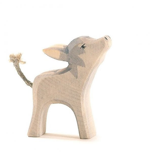 Figura legno cucciolo asino - Ostheimer