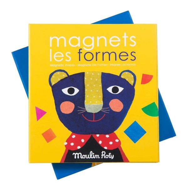 Gioco educativo magnetico Le forme Popipop Moulin Roty