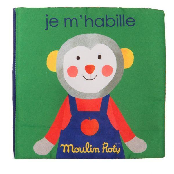 Libro delle allacciature in tessuto Popipop Moulin Roty