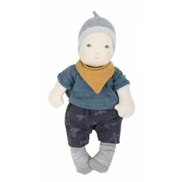 Prima bambola bebè garcon Moulin Roty