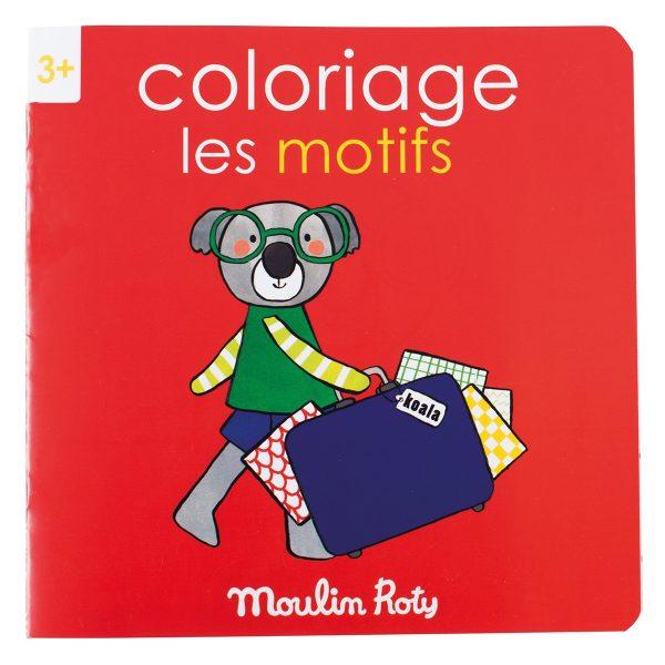 Quaderno da colorare gioco-imparo Motivi Popipop Moulin Roty