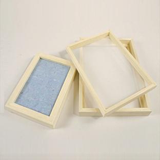 Setaccio per fare la carta riciclata 15 x 21 cm