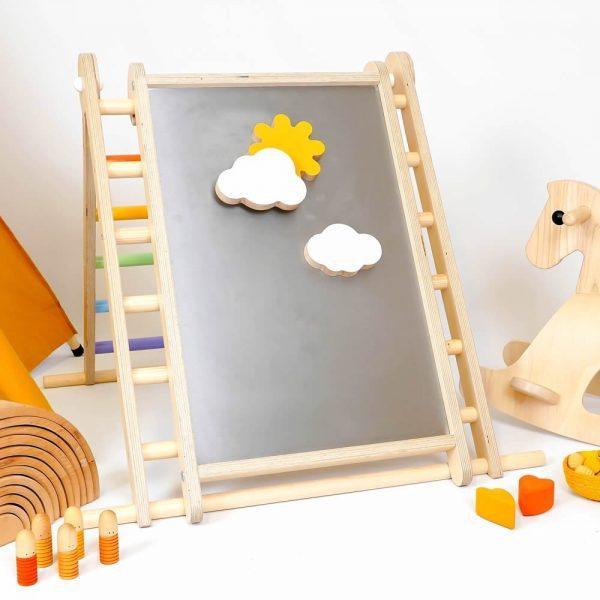 Tavola multifunzionale Biri Play Board Pikler Triclimb