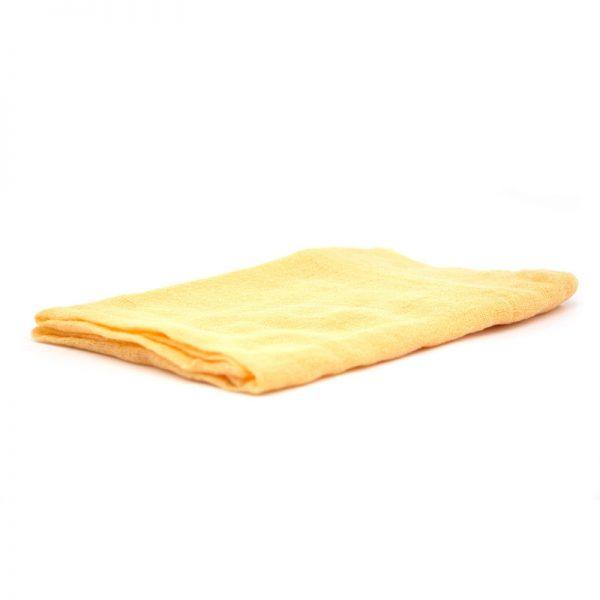 Telo gioco garza di cotone 90 x 90 cm giallo oro - Ostheimer