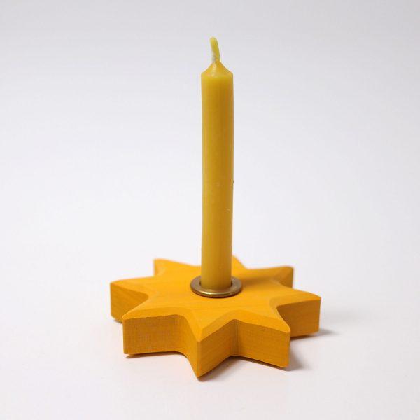 Candeliere stella gialla Grimm's