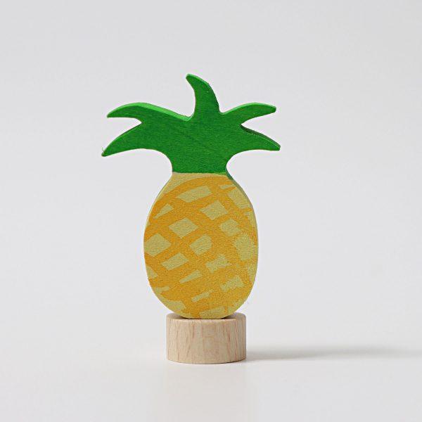 Figura decorativa legno ananas Grimm's