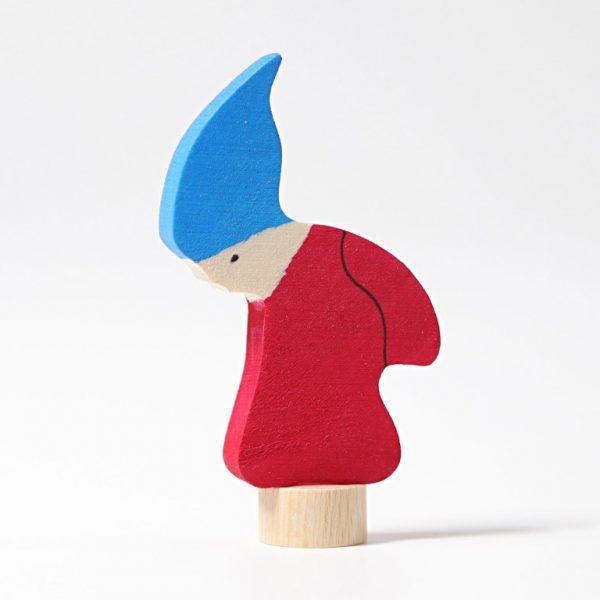 Figura decorativa legno gnomo Grimm's