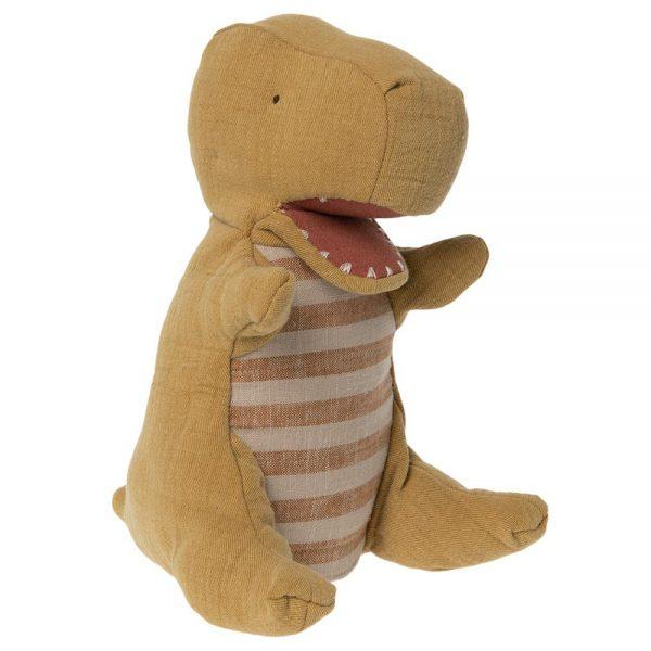 Pupazzo marionetta dinosauro verde Maileg