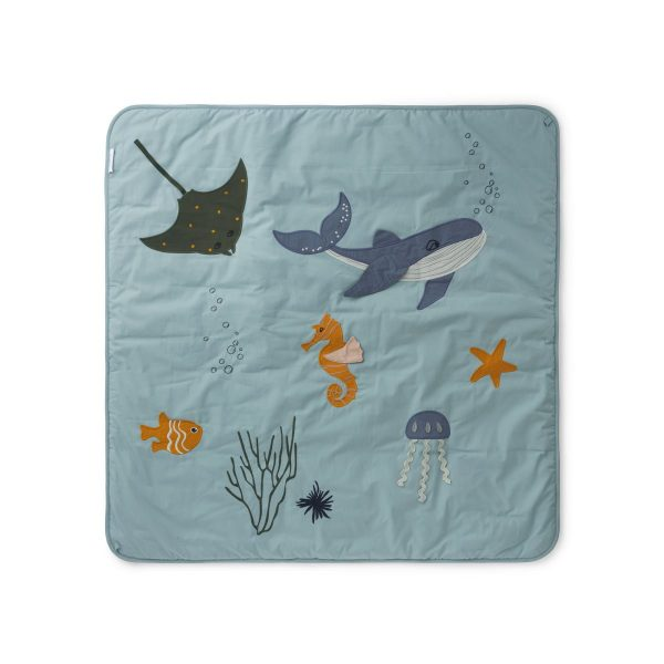 Tappeto attività Glenn Activity Blanket Sea creature mix LIEWOOD