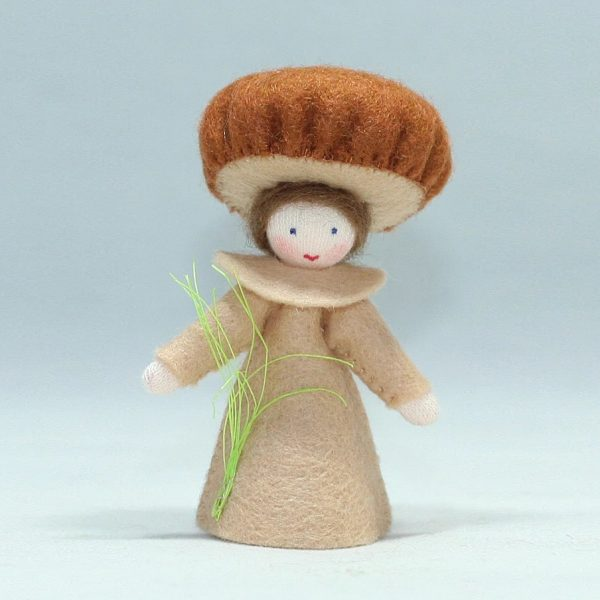 Figura Waldorf Fata Braun Fungus Boy Ambro-dolls
