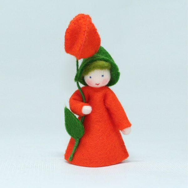Figura Waldorf Fata Lantern Boy Ambro-dolls