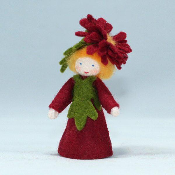 Figura Waldorf Fata Michaelmas Daisy Boy Ambro-dolls