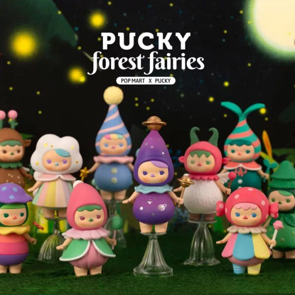 Figura in vinile Pucky Forest Fairies - blind box Pop Mart
