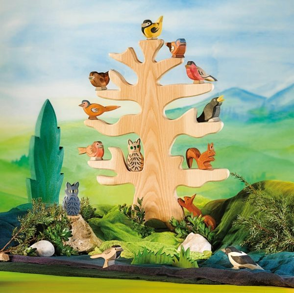 Figura legno Albero per uccelli – Ostheimer 3030-1