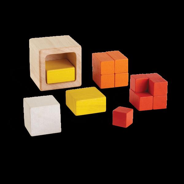 Gioco logico matematico fraction cubes Plan Toys