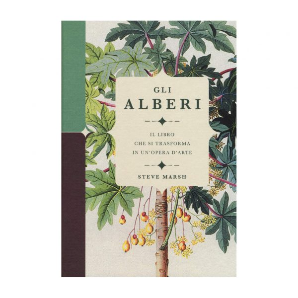 Gli Alberi - Il libro che si trasforma in un'opera d'arte