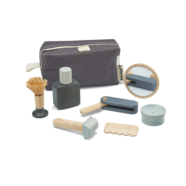 Set gioco Barbiere Shave set Plan Toys