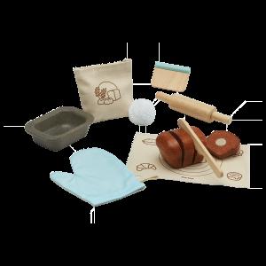 Set gioco di ruolo Bread loaf set Plan Toys
