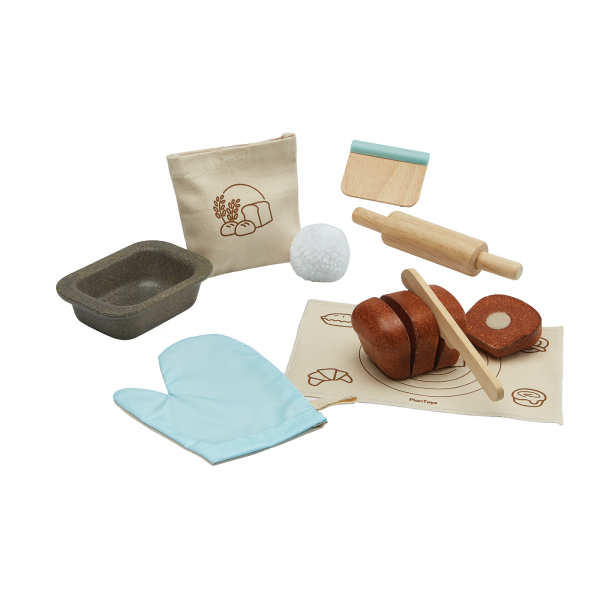 Set gioco di ruolo Bread loaf set Plan Toys