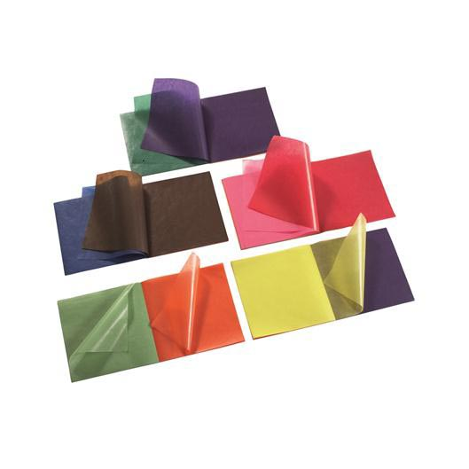 Carta oleata 11 colori assortiti 100 fogli 16×16 cm