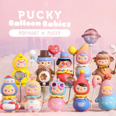 Figura in vinile Pucky Baloon Babies - blind box Pop Mart
