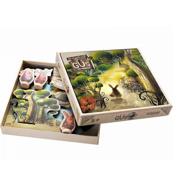 Gioco in scatola Gus magical forest Marbushka